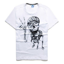 Skull Head Cool Trend Fashion Mens New 3D Printing Casual T-shirt