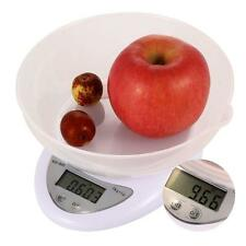 Compact Digital Kitchen Scale Diet Food 5KG 11LBS x 1g  Electronic Weight DP