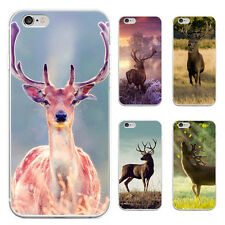 Cute Deer Pattern Case Cover for iPhone 5/6/6S/6 7Plus Samsung Galaxy Fantastic