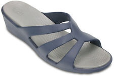 Crocs Sanrah Strappy Wedge Womens Shoes Sandals Croslite