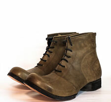 BNIB DEVOA ROUND TOE GUIDI CALF LEATHER ANATOMICAL BACK ZIP BOOTS ,42,44, 1785$