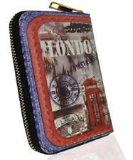 New Ladies Zip Wallet with Strap Designer High Quality Purse
