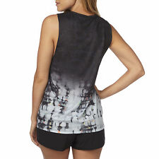 Fox Racing Womens Black Fracture Muscle Shirt