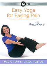 Peggy Cappy: Yoga for the Rest of Us - Easy Yoga for Easing Pain (DVD, 2012)