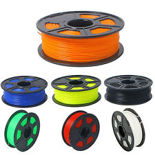 3D Printer Filament 1kg/2.2lb 1.75mm PLA Plastic for RepRap Mendel yellow  G8N8