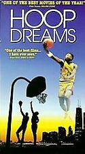 Hoop Dreams (VHS, 1999) Basketball SEALED Arthur Agee William Gates FREE SHIP