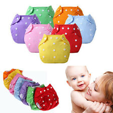 2017 New Reusable Baby Washable Waterproof Adjustable Cloth Diaper Nappy