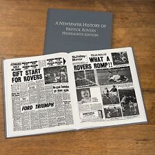 Personalised Football FC Newspaper Book Memorabilia Fan Birthday Gift 29 TEAMS
