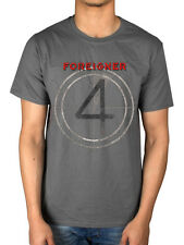 Official Foreigner Vintage 4 T-shirt Agent Provocateur Double Vision Merch