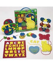 Primer Pak - Sorting, Stacking, Lacing Toys by Lauri (2117)
