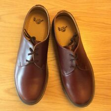 Dr Martens 1461 Air Wear tan analine brown leather shoes, UK12, BNWB