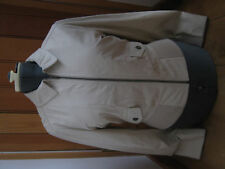 NOA NOA CREAM MC QUEEN SUEDE LEATHER BOMBER JACKET XL BNWT HAS SOME FLECKS