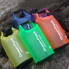 2-30L Dry Bag Water Resistant Floating Boating Kayaking Camping Waterproof Bag