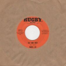 Marva Lee - Old And Grey / First Night Together - Rugby 4501 - Northern Soul Cro
