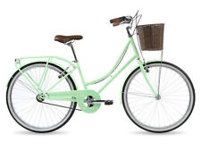 Kingston Bexley Ladies Classic Bike Retro Traditional Single Speed Mint Green