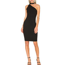 Haoduoyi Women One Shoulder Backless Casual Party Clubwear Evening Mini Dresses