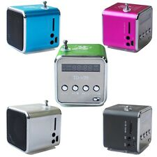 NEW Micro SD TF Mini USB Speaker Music Player Portable FM Radio Stereo PC MP3