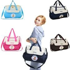 Large Baby Mummy Waterproof Nappy Changing Bags With Changing Mat Diaper Bag
