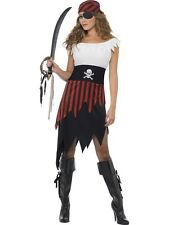 Adult Sexy Buccaneer Pirate Wench Ladies Fancy Dress Hen Party Costume Outfit