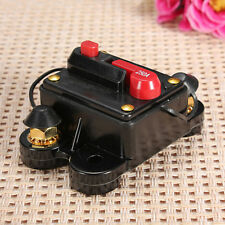 60A - 250A AMP Car Auto Marine Boat Stereo Audio Inline Circuit Breaker Fuse RS