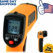 HH Non-Contact LCD IR Laser Infrared Digital Temperature Thermometer Gun XP