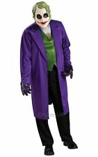 SALE! Adult Batman Movie Classic Joker Mens Fancy Dress Costume Party Outfit