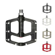 """Wellgo Alloy Bicycle MTB Bike Pedal CR-MO Spindle 9/16"""" Thread Bike Pedals Z7M6"""