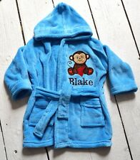 PERSONALISED BABY BATH ROBE - EMBROIDERED BABY BATH ROBE - BABY GIFT