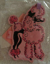ADORABLE PINK POODLE LUGGAGE TAG by FLUFF-NEW!
