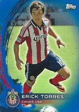 2014 Topps Major League Soccer Base Blue Parallel Card - Numbered to just /50