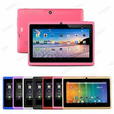 XGODY 7'' New Google Android4.4 Quad Core Dual Camera 8GB Tablet PC Bluetooth HD