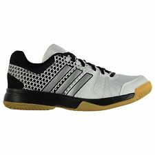 adidas Ligra 4 Indoor Court Shoes Womens White/Black Sports Trainers Sneakers