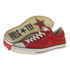 NEW CONVERSE JOHN VARVATOS STAR PLAYER EV OX LEATHER RED MENS SIZE 9.5/10