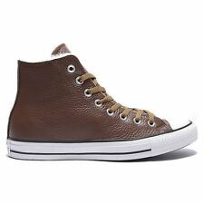 Converse Chuck Taylor All Star Leather Hi Chocolat Womens Trainers