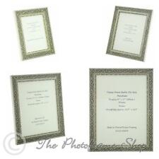 """Ornate Distressed Silver Shabby Chic Vintage Picture Frame  7""""x5""""-16""""x12"""""""
