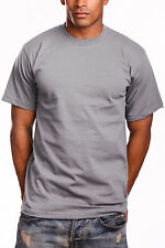 PRO 5 Heavy Weight T Shirts Crew Neck Short Sleeve Men's Big and Tall 3XL-7XL