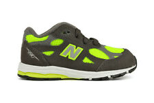 New Balance 990 Series KJ990YMI TD Toddler and Infant Grey Green Shoes
