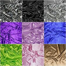 Charmeuse Stretch Satin Spandex apparel curtains backdrops wedding 65 yard roll