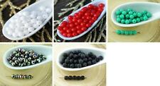 100pcs Round Czech Glass Beads Small Spacer 4mm