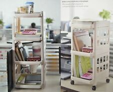 Large 3 Or 4 Drawer Plastic Tower Storage Unit For Homes/Office/Bedroom
