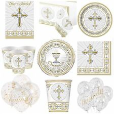 first communion/ confirmation,christening party tableware, cups, plates, napkins