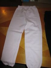 Girl's Jerzees Sweat Pants Pink Size 6/8 OR Black Size 2/4 NEW