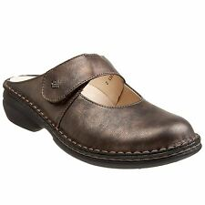 Finn Comfort Stanford 2552 Bronze Womens Mary Jane Clogs Sandals Leather