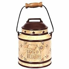 Blonder Home Linda Spivey Punched Tin Country Kitchen Small or Large Canister