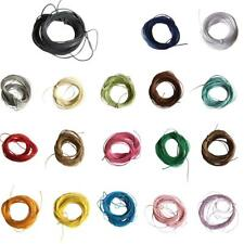 10 Meters Waxed Nylon String Rope DIY Necklace Making Jewelry Cord Thread 1mm
