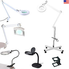 Magnifying Magnifier Lamp Series For Repair Hobby Salon Spa Beauty Nail Tatoo US