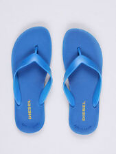 Diesel Jeans Flip Flop SPLISH Nautical Blue Rubber Sandals Slides Made in Italy