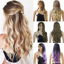 Fashion Women Cosplay Costume Party Full Wig Long Wave Straight Synthetic Wigs #