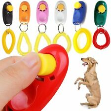 Big Button Clicker with wrist band For training dog,cat,horses,Pets Strap Guide