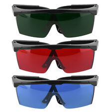 Protection Goggles Safety Glasses Green Blue Red Eye Spectacle Protective New XP